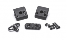 Magazine Clamp W/ Rail And Sling Swivel For Moss 930 (12-GA)