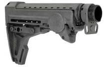 Telescoping rifle stock