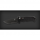 Gerber 06 Auto - Drop Point, Serrated