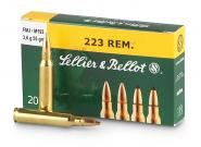 CASE OF 50 RIFLE 223 REM 55GR FMJ 20RD/BX