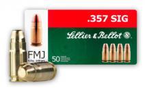 CASE OF 20 HANDGUN 357 SIG 140GR FMJ 50RD/BX