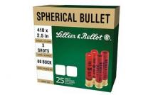 CASE OF 20 SHOTSHELLS 410 BORE #000 3 BALLS 25RD/BX