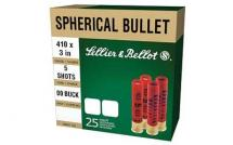 CASE OF 20 SHOTSHELLS 410 BORE #00 5 BALLS 25RD/BX