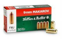 CASE OF 20 HANDGUN 9MM MAK 95GR FMJ 50RD/BX