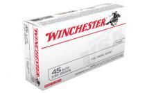 Winchester USA 45ACP 230GR FMJ