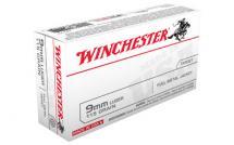 Winchester USA 9MM  FMJ 50/500
