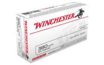 Winchester USA .380ACP 95GR FMJ