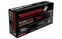 Winchester Defender .223 Remington 60GR/77GR JHP 20/200