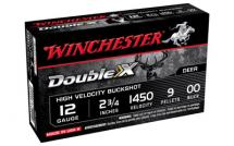 Winchester Double X High Velocity 12GA 00BK 5/250