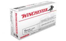 Winchester USA 9MM 115GR/147GR JHP 50/500