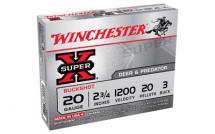 WIN SUPERX 20GA 2.75 #3BK 20PL 5/250