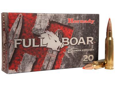 Hornady Full Boar Ammunition 308WIN 165GR GMX 20/200