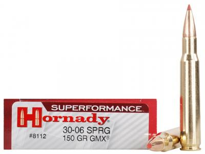 Hornady Superformance 3006 150GR/165GR GMX 20/200