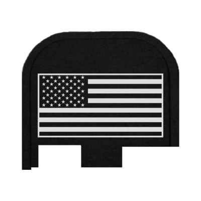 Rear Slide Plate For Glock 43, 43X, 48 - USA Flag