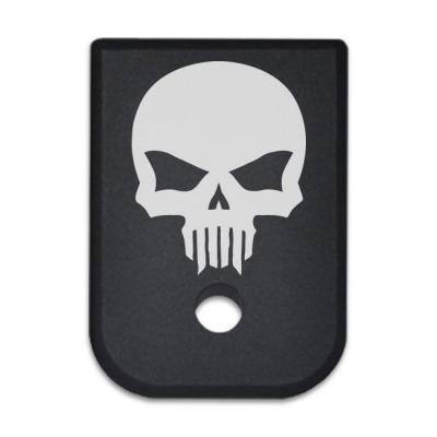 Magazine Base Plate For Glock 9mm .40 Cal - Bastion Skull