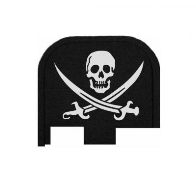 Rear Slide Plate For Glock 43, 43X, 48 - Pirate