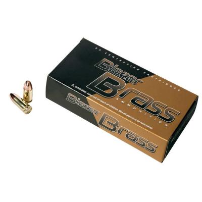 BRASS 9MM LUG FMJ 50RD/BX