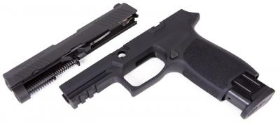 Caliber X-Change Kit, P320 Carry, 9mm, Black, 17 Round Mag