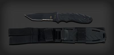 CFB - Tanto, Serrated, Black