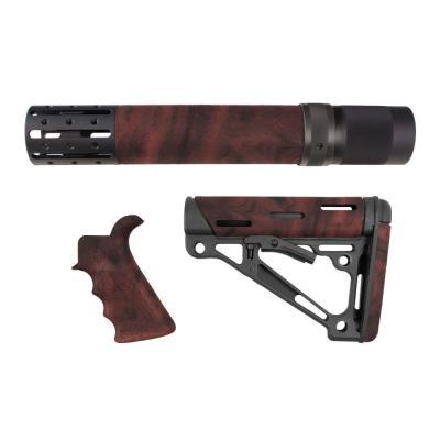 Hogue AR-15/M-16 Kit Red Lava