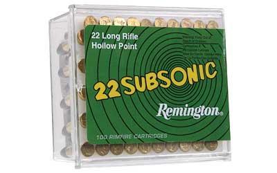 REM SUBSONIC 22LR 38GR HP 100PK
