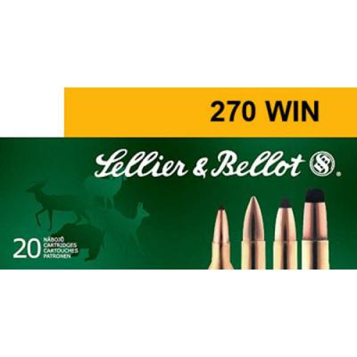 CASE OF 20 RIFLE 270 WIN 150GR SP 20RD/BX
