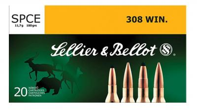 CASE OF 25 RIFLE 308 WIN 180GR SPCE 20RD/BX