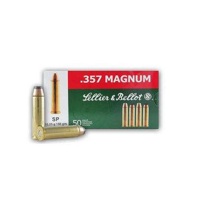HANDGUN 357 MAG 158GR SP 50RD/BX