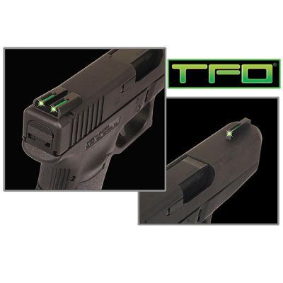 TFO  Tritium/Fiber-Optic Day/Night Sights (Green/Green)