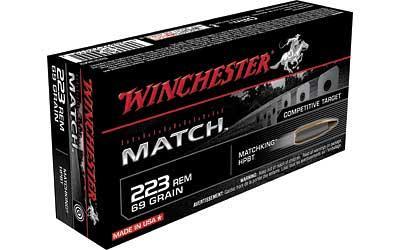 WIN MATCH 223REM 69GR BTHP 20/200