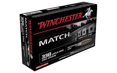 WIN MATCH 338LAP 250GR BTHP 20/200