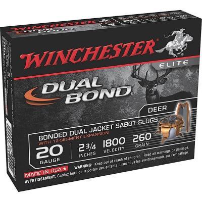 Winchester Dual Bond 20GA Slug Sabot HP 5/100