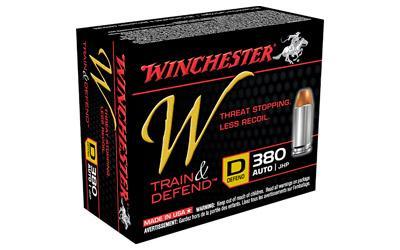 WIN W DEFEND 380ACP 95GR JHP 20/200