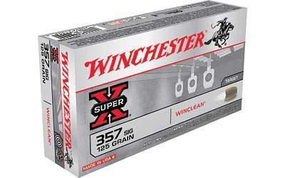 WIN SPRX WINCLEAN 357SIG 125GR 50/